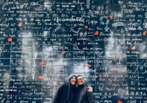 """How do you say """"I Love You""""? See if you can find it among the 250 languages on this wall!"""