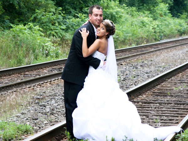 Our wedding day, August 1st, 2009.