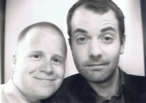 Photo booth snap at a friend's wedding.