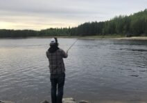 Afternoon of fishing